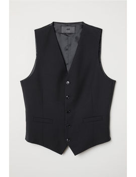 Kostymväst I Ullblandning by H&M