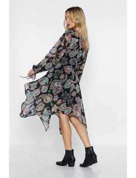 Hell To Paisley Dress by Nasty Gal