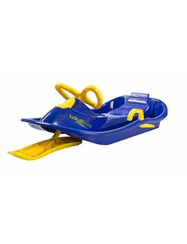 Lucky Bums Plastic Racer Sled, 40 Inch, Blue/Yellow by Lucky Bums