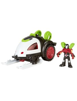 Fisher Price Imaginext Dc Super Friends, Bane & Battle Sled by Fisher Price