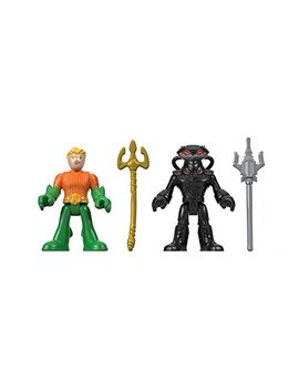 Fisher Price Imaginext Dc Super Friends, Aquaman & Black Manta by Fisher Price