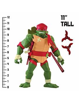 Rise Of The Teenage Mutant Ninja Turtles Raphael Giant Figure, Multicolor by Rise Of The Teenage Mutant Ninja Turtles