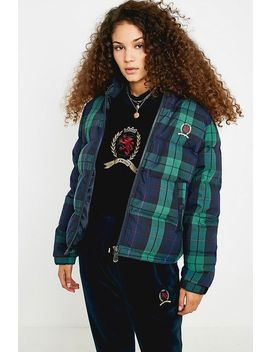 """TommyJeans– Karierte Steppjacke""""Crest Collection"""" by Tommy Jeans Shoppen"""