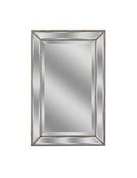 "Headwest Metro Beaded Mirror, 20"" X 32"" by Head West"