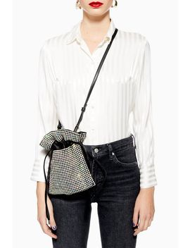 Cher Diamante Pouch by Topshop