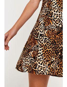 Urban Renewal Remnants Leopard Tea Dress by Urban Renewal