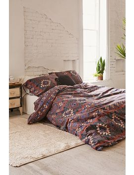 Hudson Stripe Duvet Cover Set by Urban Outfitters