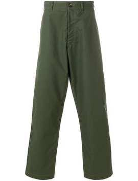 Checked Wide Leg Trousers by Comme Des Garçons Shirt