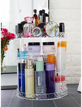 Rotatable Multi Layer Cosmetic Storage Rack by Sheinside