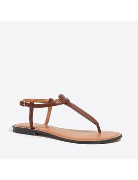 T Strap Sandals by J.Crew