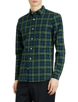 Alexander Woven Check Sport Shirt by Burberry