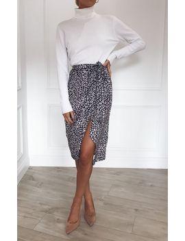 aria-wrap-midi-skirt---leopard by pretty-lavish