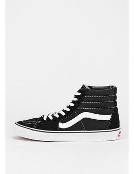 Schuh Sk8 Hi Black/White by Vans