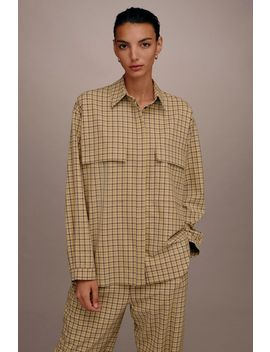 **Check Pocket Shirt By Boutique by Topshop