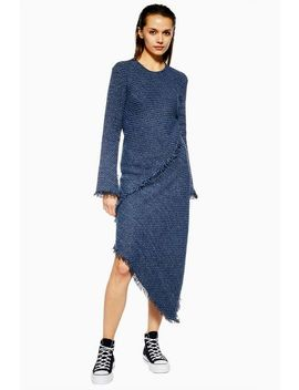 **Tweed Spiral Dress By Boutique by Topshop