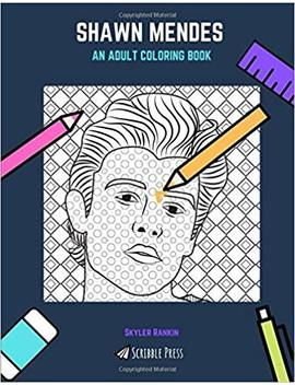 Shawn Mendes: An Adult Coloring Book: A Shawn Mendes Coloring Book For Adults (Scribble Press) by Amazon