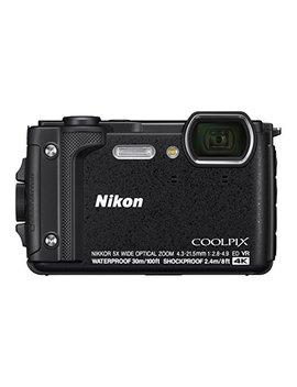 """Nikon W300 Waterproof Underwater Digital Camera With Tft Lcd, 3"""", Black (26523) by Nikon"""