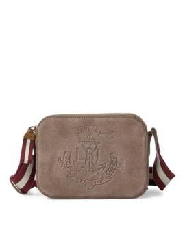 Suede Crossbody Bag by Ralph Lauren