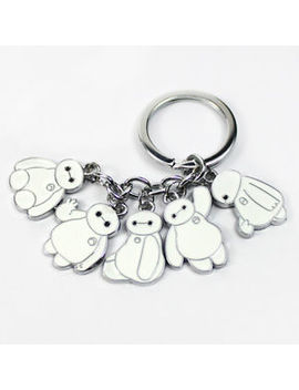 Baymax Keychain Big Hero 6 Charm Metal Keyring Pendant Cute Best Gift by Unbranded