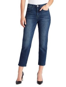 So Cheeky Straight High Rise Jeans by William Rast