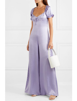 Naomi Satin Jumpsuit by Staud
