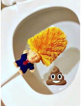 Donald Trump Toilet Bowl Brush Gag Gift, Donald Trump, Make America Great Again, Trump 2020, President Trump, Trump Sign,  Trump 2017 by Etsy