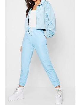 Woven Soft Touch Jogger by Boohoo