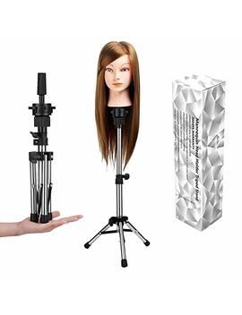 Wam Direct Mini Mannequin Head Holder Tripod Stand,Adjustable Training Doll Head Stand... by Wam Direct