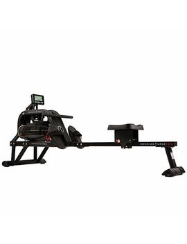 Sunny Health & Fitness Water Rowing Machine Rower W/Lcd Monitor   Obsidian Sf Rw5713 by Sunny Health & Fitness