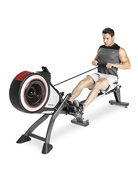 Marcy Foldable Turbine Rowing Machine Rower With 8 Resistance Setting And Transport Wheels Ns 6050 Re by Marcy