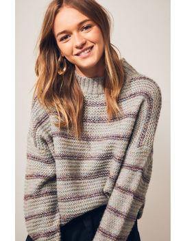 Raga Tegan Mock Neck Sweater by Pacsun