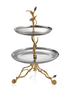 Enchanted Garden Small Etagere by Michael Aram