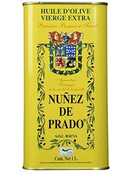 Nunez De Prado Extra Virgin Olive Oil Tin, 33.8 Ounce by Nuñez De Prado