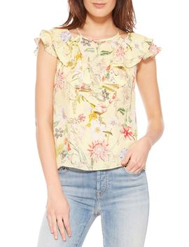 Terry Floral Silk Top by Parker
