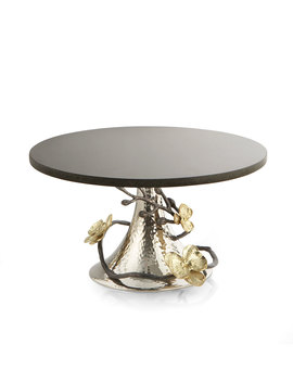 Gold Orchid Cake Stand by Michael Aram