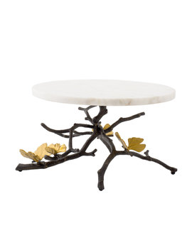 Butterfly Gingko Cake Stand by Michael Aram