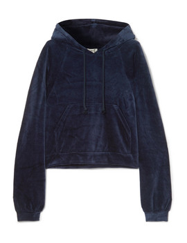 Ubera Organic Cotton Velour Hoodie by Baserange