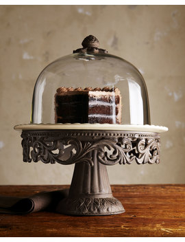 Cake Dome & Pedestal by G G Collection
