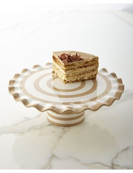 Spot On 14 Ruffle Cake Stand by Coton Colors