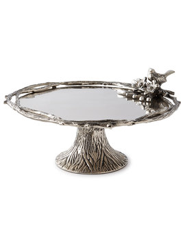Birds & Branches Footed Cake Stand by Neiman Marcus