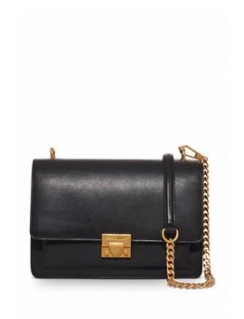 Christy Medium Leather Shoulder Bag by Rebecca Minkoff