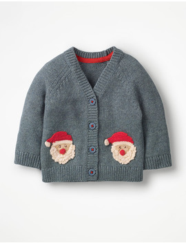 Crochet Characters Cardigan by Boden