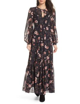 Floral Print Maxi Dress by Ever New
