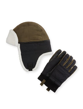 Men's Mixed Media Hat & Glove Gift Set by Ugg