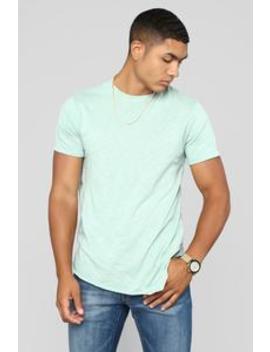 Robby Short Sleeve Tee   Green by Fashion Nova