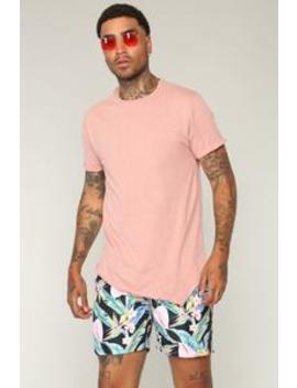Robby Short Sleeve Tee   Red by Fashion Nova