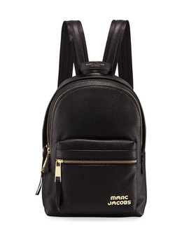 Medium Pebbled Leather Backpack by Marc Jacobs