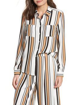 Clinton Stripe Shirt by Lira Clothing