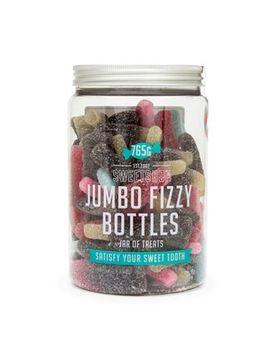Sweet Shop   'jumbo Fizzy Bottles' Jar Of Sweets   765g by Sweet Shop