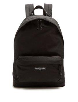 Explorer Coated Canvas Backpack by Balenciaga